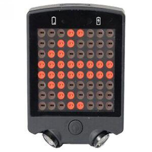 Velo-Telecommande-Sans-Fil-Clignotant-Feu-Arriere-Lumiere-Usb-Rechargeable-X4J8