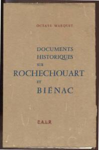 O-MARQUET-DOCUMENTS-HISTORIQUES-SUR-ROCHECHOUART-ET-BIENAC