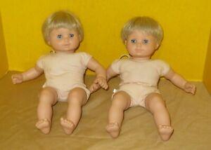 Bitty Baby Doll Twins Boy & Girl Nude - American Girl 2003-2005
