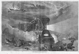 SKELETON-DEATH-TRAIN-HORRORS-OF-TRAVEL-1865-LOCOMOTIVE-COLLISION-EXPLOSION