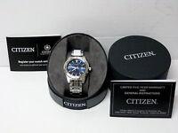 Brand New Citizen BI1040-50L Men's Stainless Steel  Watch - Free shipping