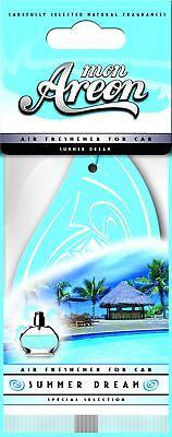 Motivata 10x Originale Areon Profumatore Deodorante Auto Profumo Sogno Estivo