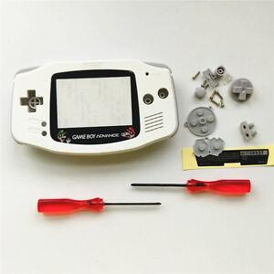 Super-Mario-Housing-Shell-Case-for-Nintendo-Gameboy-Advance-GBA-White