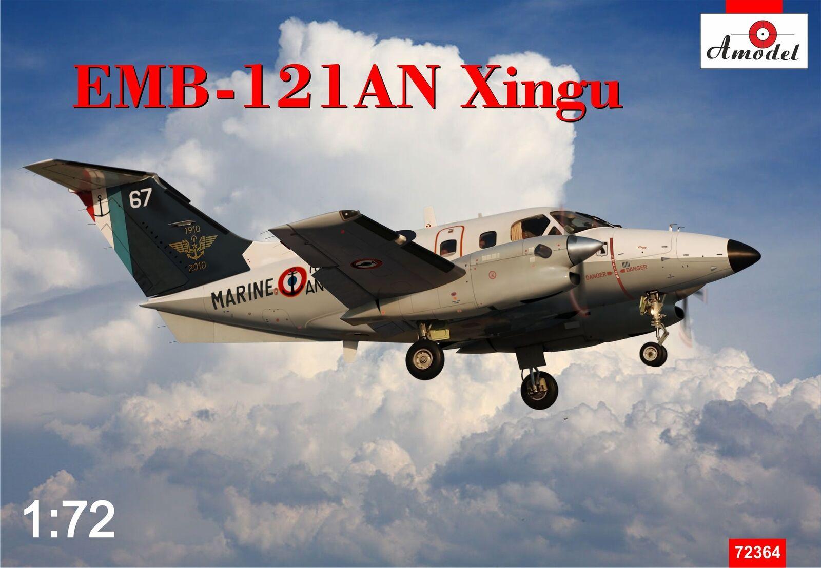 Amodelllller 1  72 Embrer EMB -121AN Xingu