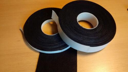Filzklebeband marine//uni Kratzschutz 10m lang 1,3mm dick 6-30mm breit