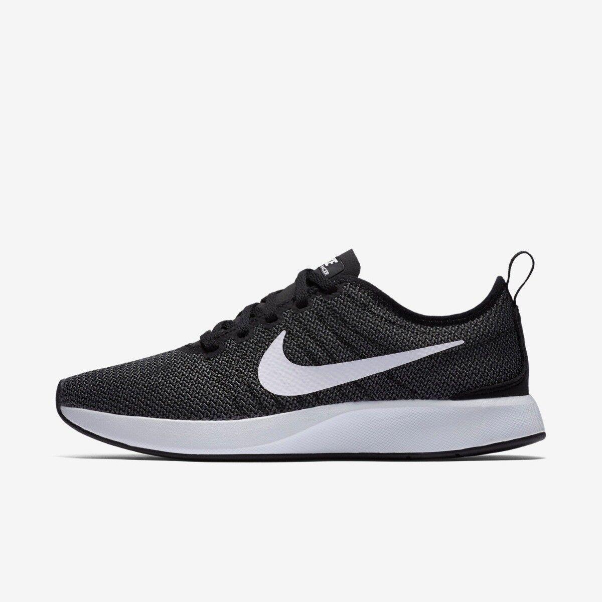 Nike Dualtone Racer Womens Running Trainer shoe Size 4 -7.5 Black White Grey New