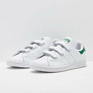 adidas-Stan-Smith-UK-Size-8-Men-039-s-Trainers-White-Originals-Shoe