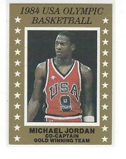 1984 USA OLYMPIC BASKETBALL CO-CAPTAIN GOLD WINNING TEAM MICHAEL JORDAN #NNO