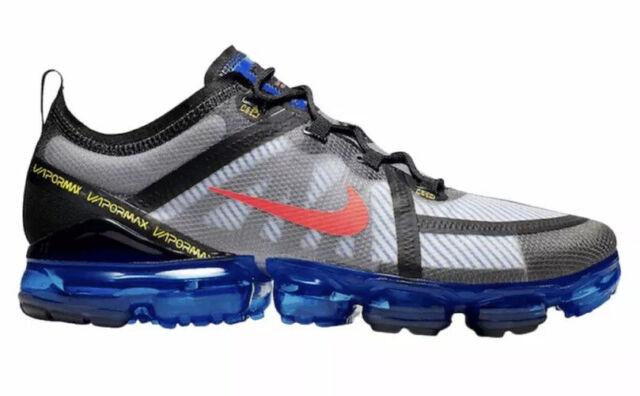 Nike Air Vapormax 2019 Men's Size 6.5 Shoes Black Hyper Blue Crimson AR6631-008