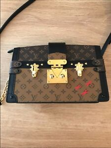 d986368973 Louis Vuitton Paris Sac à main Bag Trunk Monogram Handbag France ...