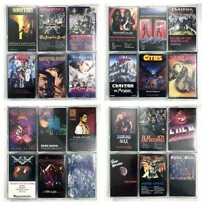 BUILD-UR-OWN-Cassette-Tape-Lot-Classic-80-039-s-90-039-s-Death-Thrash-amp-Power-Metal