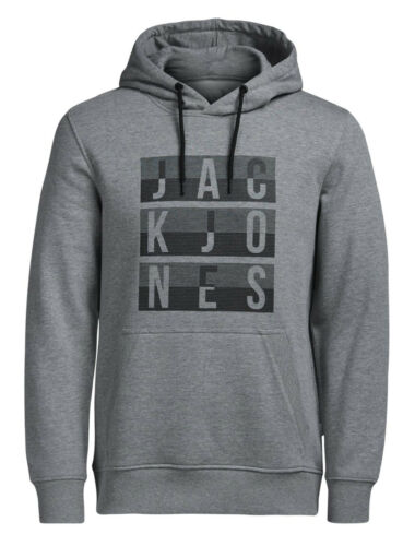 Gym Éclair Sans Fermeture shirt Coton Jones Homme Jack Original Sweat CWw6xRWUBq