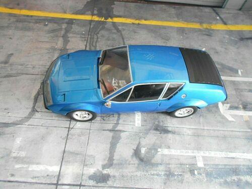 RENAULT Alpine A310 Coupe blau blue met 1974 IXO RAR 1:18