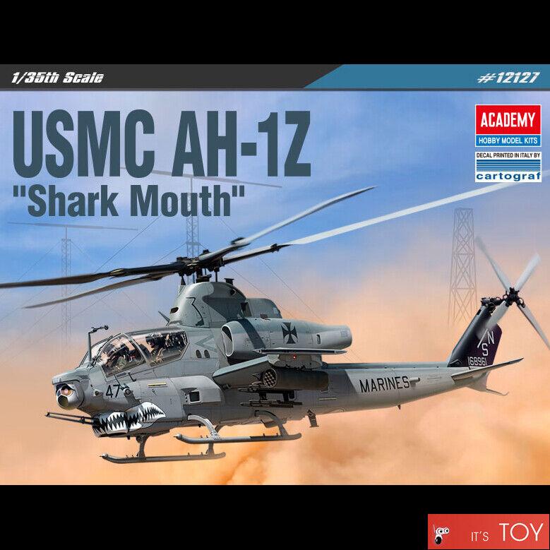 135 USMC AH 1Z Shark Mouth #12127 ACADEMY Air Force