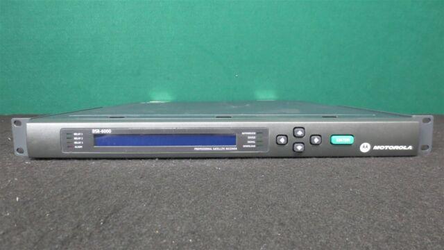 Motorola Dsr 6000 Professional Satellite Receiver Seller For Sale Online Ebay