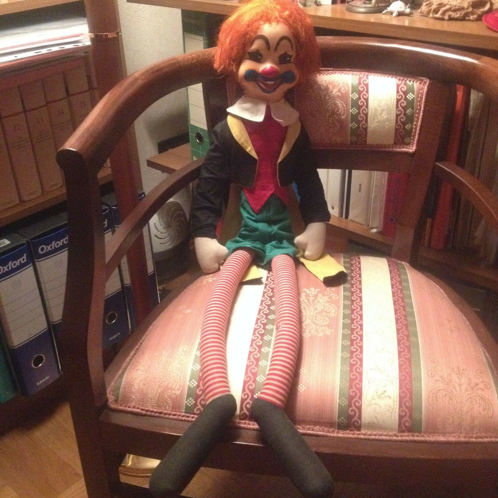 Clown gambe lunghe Ceppi Ratti anni 60 70 vintage da collezione o regalo