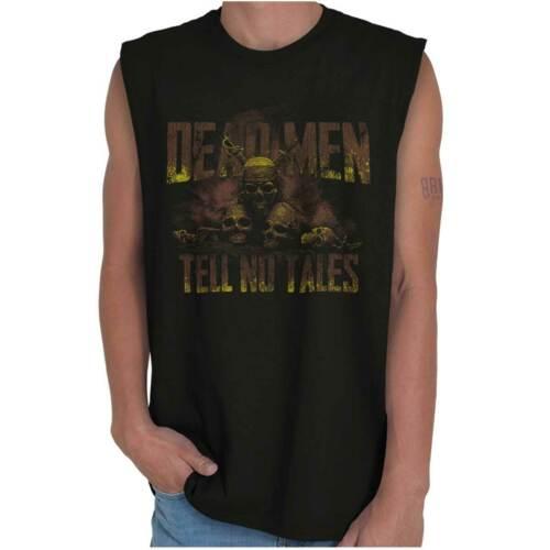 Pirate Ship Captain Movie Graphic Novelty Sleeveless T Shirts Tees Tshirts