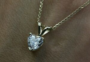 2.00 Ct Solitaire Princess Diamond Pendent 14K Solid Yellow Gold Necklaces