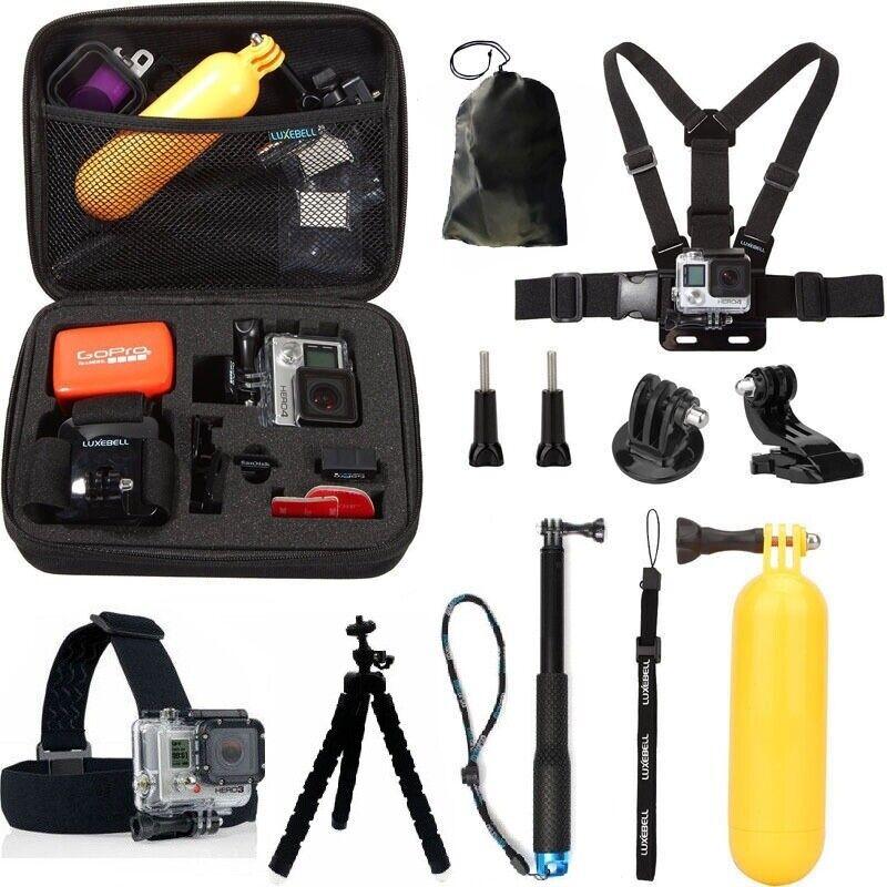 GoPro HERO7 Black Action Camera Accessories Kit For Go Pro Hero 6/5/4 New Model 2