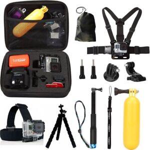 Accessories Kit set Gopro Mount for go pro hero 3 4 6 5 Session SJCAM Xiaomi yi