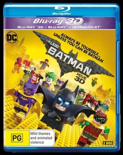 1 of 1 - The LEGO Batman Movie (Bluray, 2017, ) Ex rental bluray disc only