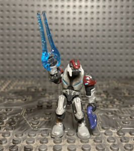 Halo Mega Bloks Set #96923 Covenant Ascetic Elite with Plasma Rifle /& Parts Lot