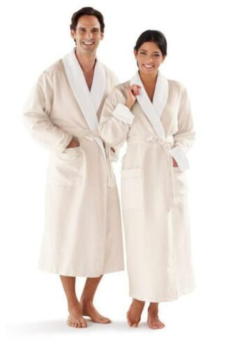 Robes Microfiber With Terry Cotton Lined Resort Hotel Bathrobe Spa Hotel Robes