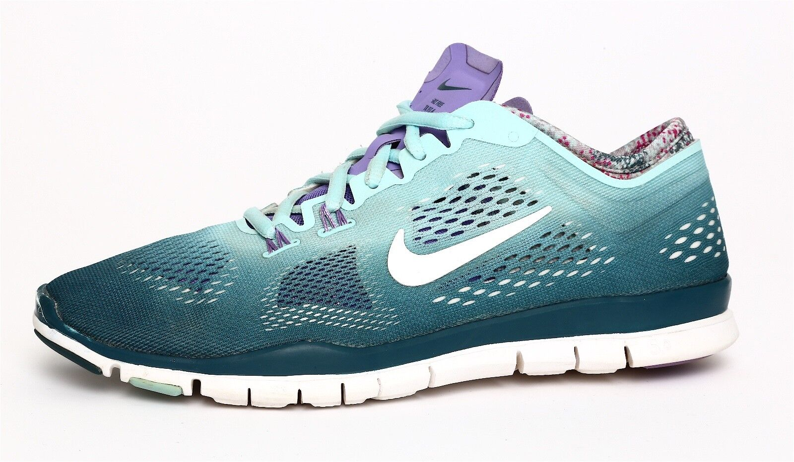 Nike Free 5.0 Tr Fit  4 Women's Teal Training Sneaker Sz 7.5 3104