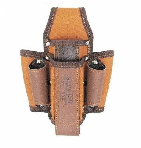 KAYA KL-826 TOOL Holsters Top Grain Cowhide Buckle Drill Leather Craft/_0C