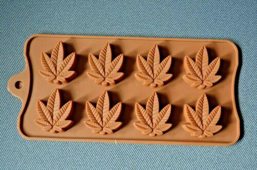 Silikon Pralinen Pralinenform Backform Schokolade Konfekt Butter Blätter