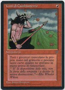 WINDS-of-CHANGE-X1-MAGIC-Mtg-ITALIAN-LEGENDS-EXCELLENT-LIGHT-PLAY-EX-LP