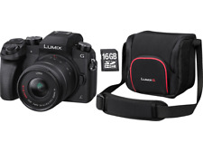 Artikelbild PANASONIC Lumix DMC-G70 + 14-42mm + 16 GB Speicherkarte + Tasche