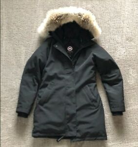 Image is loading Women-039-s-Canada-Goose-Victoria-Parka-Jacket- 653ecd77e