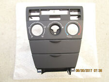 Item 6 03 08 Toyota Corolla Le Dash Climate Control Face Plate Bezel Trim Black New