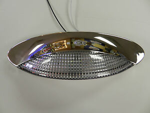 Awesome Image Is Loading 12 Volt 18 LED Porch Light Oval Clear
