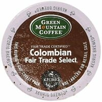 Green Mountain Columbian Fair Trade Select K-cups 80 Count, New, Free Shipping on sale