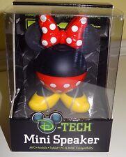 Disney Parks Minnie Mouse D-Tech Mini Speaker