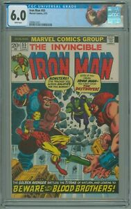 Iron-Man-55-CGC-6-0-FN-1st-Appearance-of-Thanos-and-Drax-the-Destroyer-1973