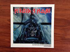 IRON MAIDEN - PILOT - STICKER/DECAL - BRAND NEW VINTAGE - MUSIC BAND 069