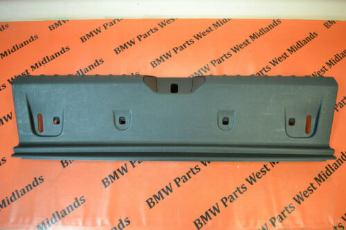 BMW 1 SERIES F20 F21 GENUINE IN BOOT BACK PANEL INNER COVER TRIM 7221871