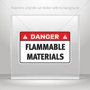 Danger Ejection Seat Vinyl Sticker