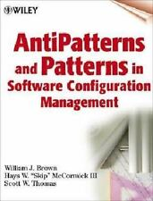 Anti-Patterns and Patterns in Software Configuration Management, McCormick, Hays
