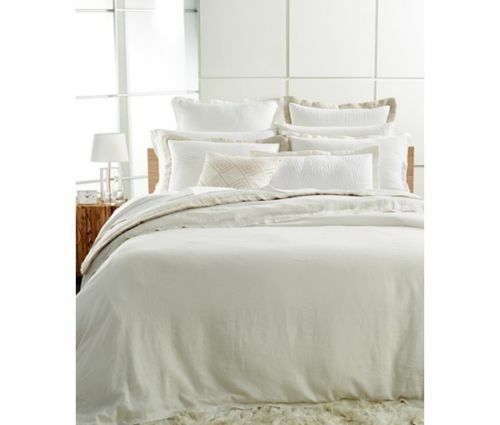Hotel Collection White Linen collection SHAM - standard - white