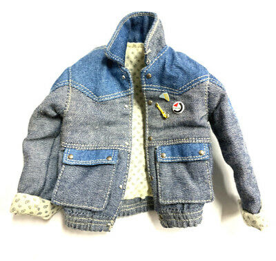 Hot Toys MMS257 Back to the Future MARTY MCFLY Figure 1//6 DENIM JACKET