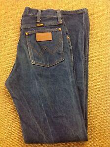 Para-Hombre-Wrangler-W28-30-L32-Jeans-Excelente-Estado