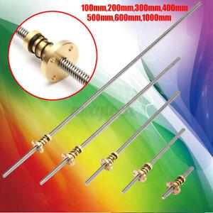 T8-3D-Drucker-8mm-Kabel-Schrauben-Stange-Z-Axis-Geradelinig-Schaft-W