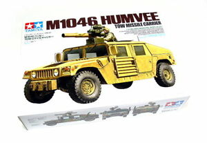 Tamiya-Military-Model-1-35-M1046-HUMVEE-Missile-Carrier-Scale-Hobby-35267