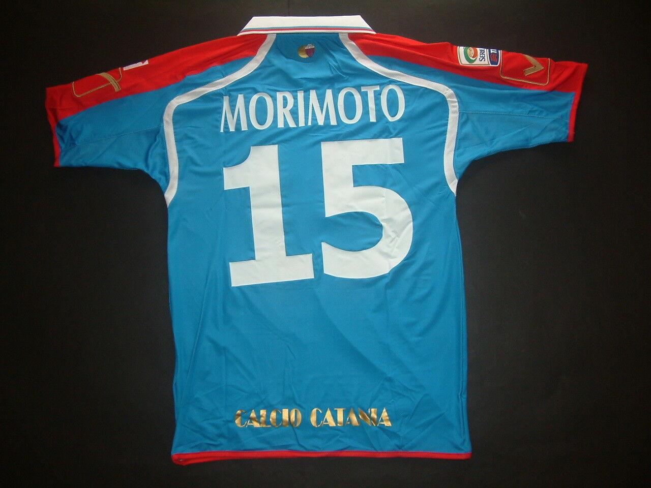 MORIMOTO CATANIA HOME match issued MC-SS 2010-2011 TIM CUP