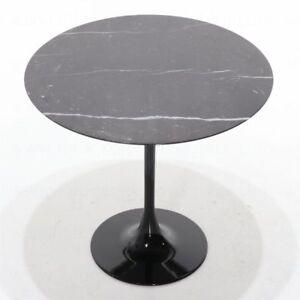 "Tavolo tondo Tulip Saarinen in marmo nero Marquinia ""Made in Italy ..."