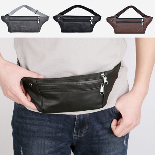 Outdoor Multi-Function Running Pockets Men Sports Fanny Waist Pack Chest Bags